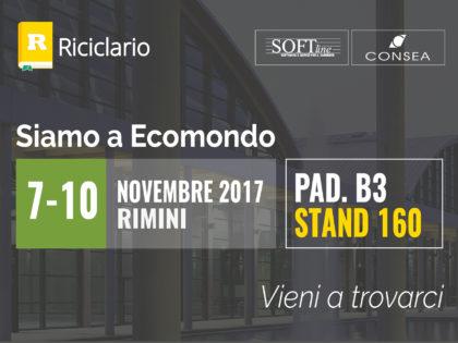 Riciclario vi aspetta a Ecomondo 2017
