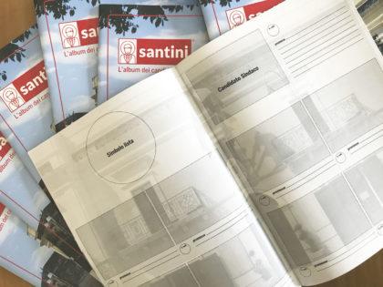 Riciclario per Santini: usa l'app e ricevi gratis l'album per raccogliere i santini dei candidati alle elezioni