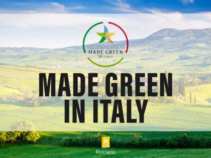 Made Green in Italy, la certificazione italiana dell'impronta ambientale