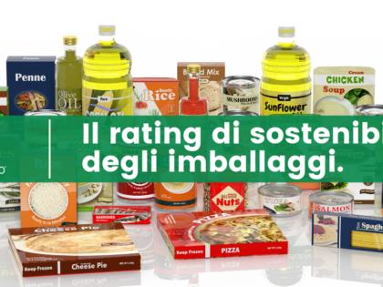 Il rating di sostenibilità degli imballaggi.